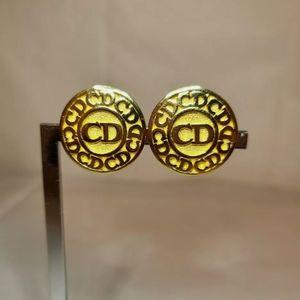 Vintage Cristian Dior Clip Earrings